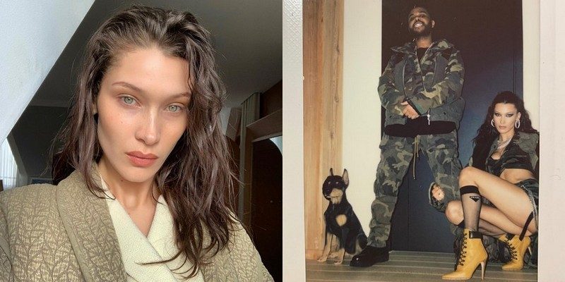 The Weeknd's girlfriend Bella Hadid
