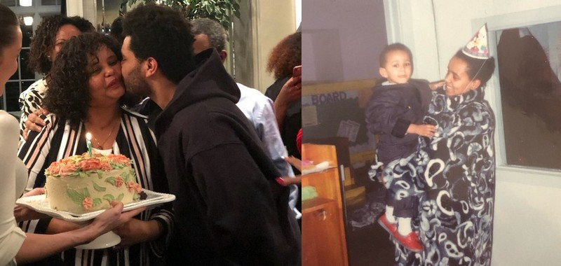 The Weeknd's family - mother Samra Tesfaye