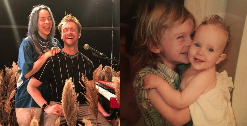 Billie Eilish's siblings - brother Finneas O'Connell