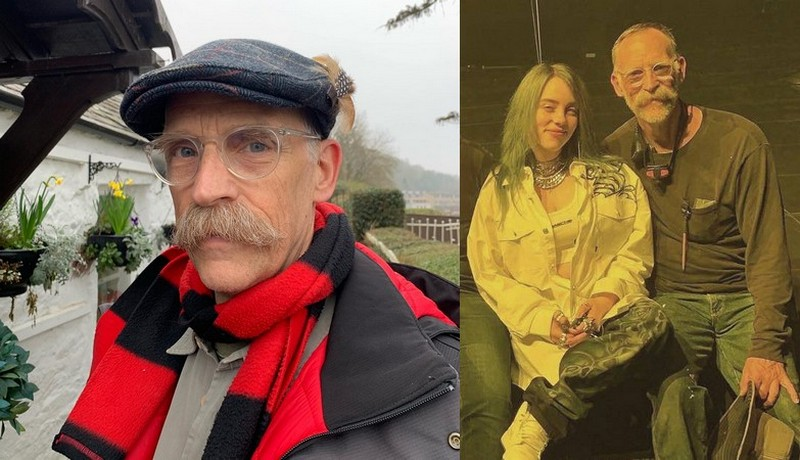 Billie Eilish's family - father Patrick O'Connell