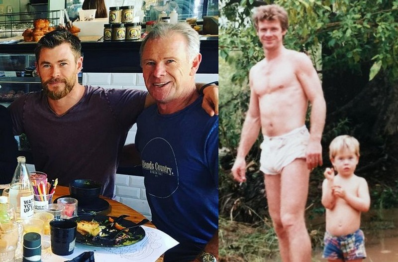 Chris Hemsworth's family - father Craig Hemsworth