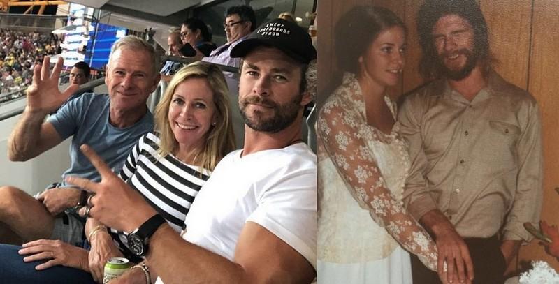 Chris Hemsworth's family - parents