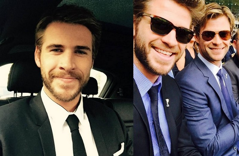 Chris Hemsworth's siblings - brother Liam Hemsworth