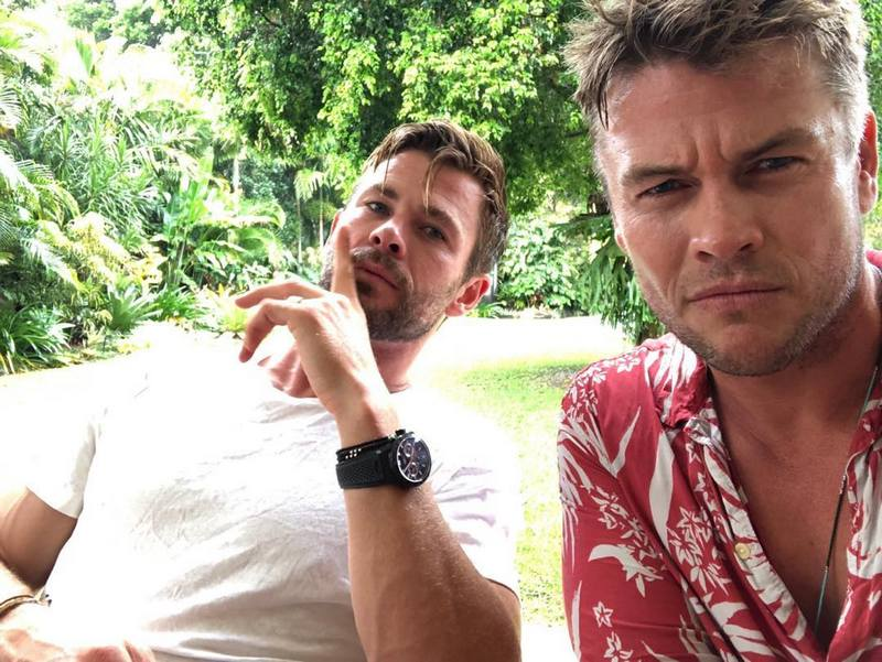 Chris Hemsworth's siblings - brother Luke Hemsworth
