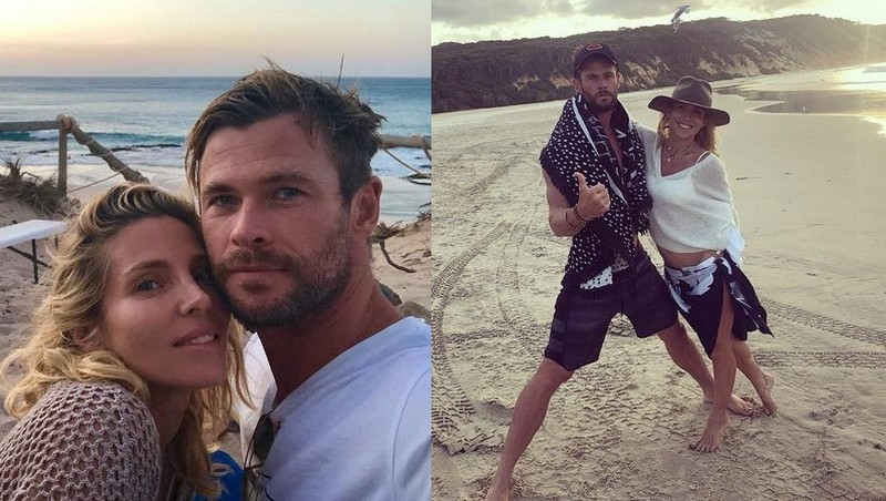 Chris Hemsworth's family - wife Elsa Pataky