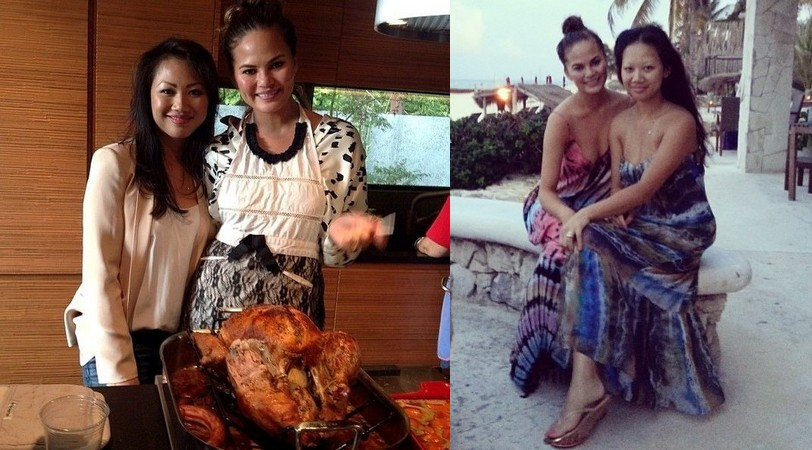Chrissy Teigen's siblings - sister Tina Teigen