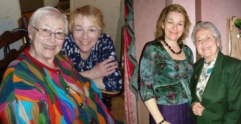 Emma Samms' family - mother Madeleine U. Samuelson