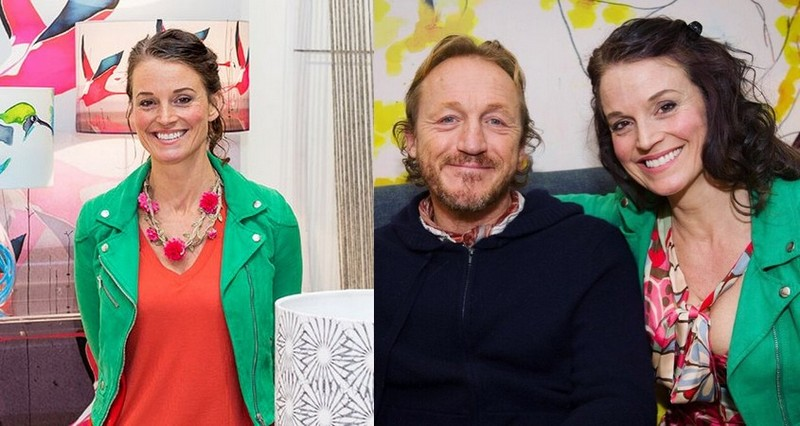 Jerome Flynn's family - ex-girlfriend Anna Jacobs