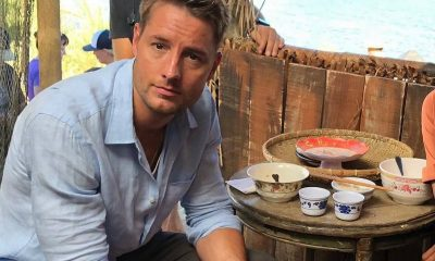 Justin Hartley's family: parents, siblings, wife and kids