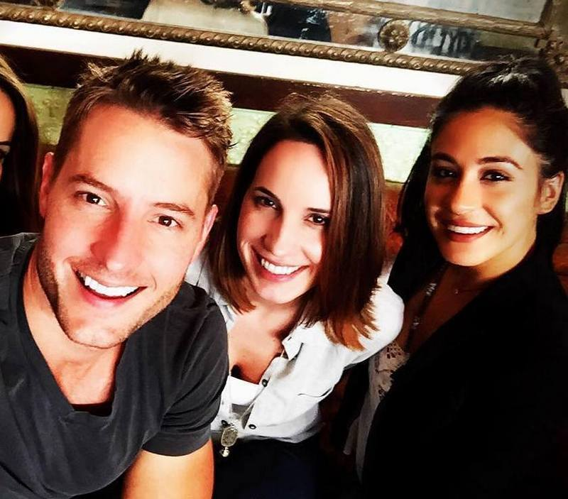 Justin Hartley's siblings - 2 sisters