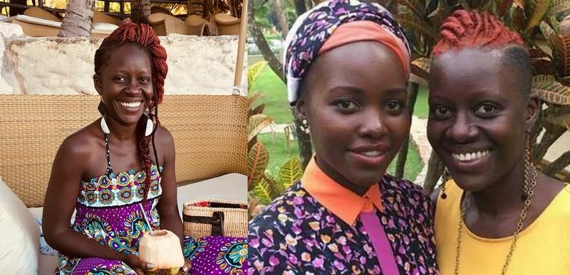 Lupita Nyong'o siblings - sister Zawadi Nyong'o