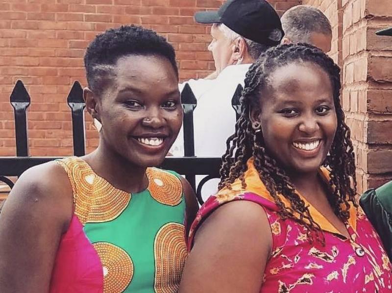 Lupita Nyong'o siblings - sister Fiona Nyong'o