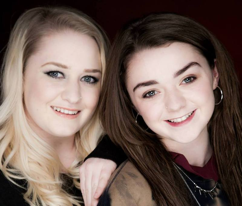 Maisie Williams' siblings - sister Beth Pow