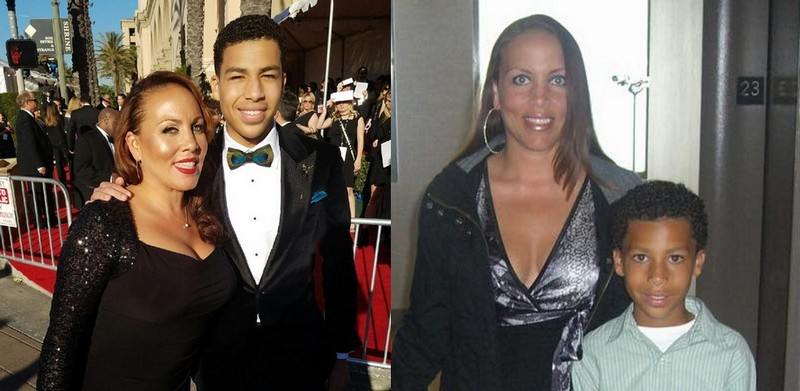 Marcus Scribner's family - mother Angela Scribner