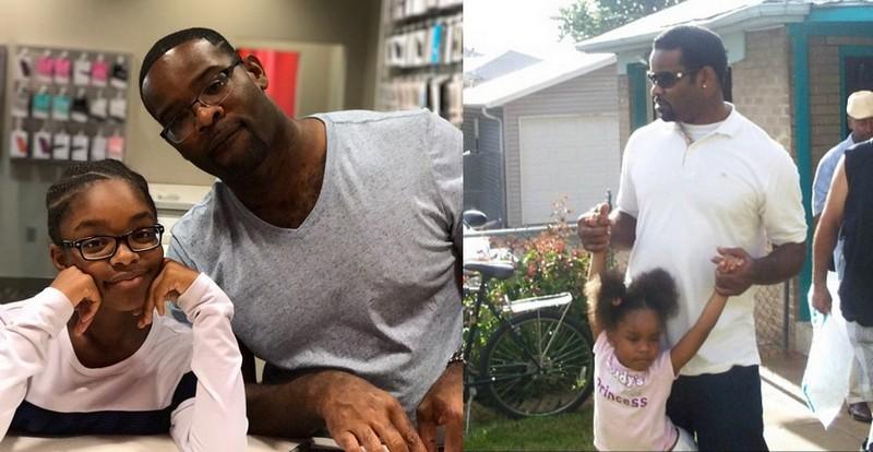 Marsai Martin's family - father Joshua Martin