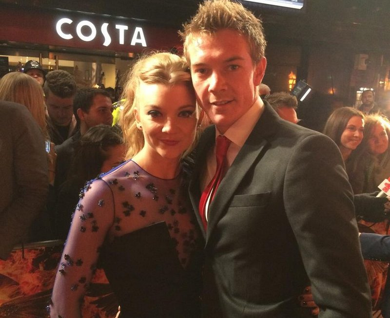 Natalie Dormer's siblings - brother Mark Dormer
