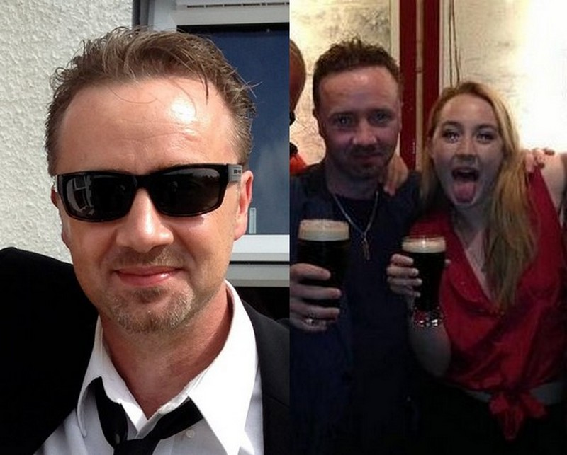 Saoirse Ronan's family - father Paul Ronan