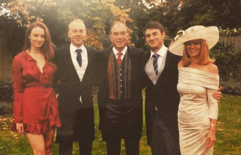Sophie Turner's family