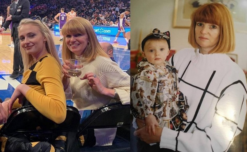 Sophie Turner's family - mother Sally Turner