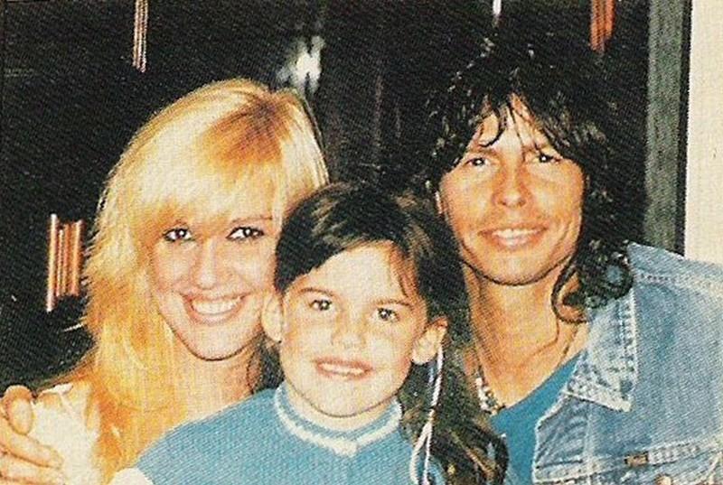 Steven Tyler's family - ex-wife Cyrinda Foxe