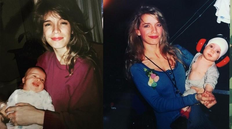 Steven Tyler's family - ex-wife Teresa Barrick