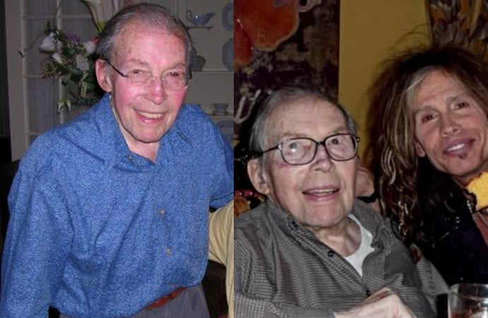 Steven Tyler's family - father Victor A. Tallarico