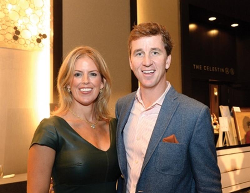 Cooper Manning's family - wife Ellen Heidingsfelder