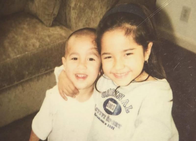 Becky G siblings - brother Frankie Gomez