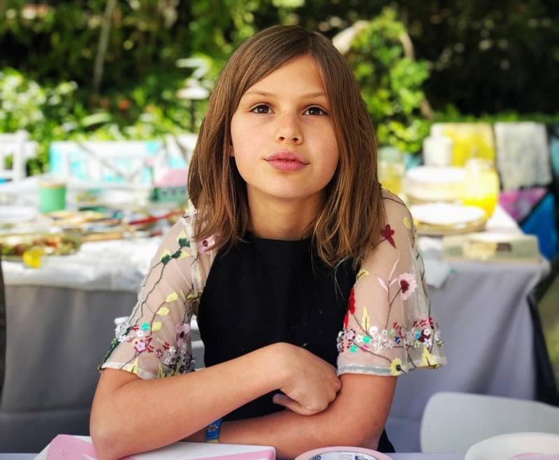 Busy Philipps' children - daughter Birdie Leigh Silverstein
