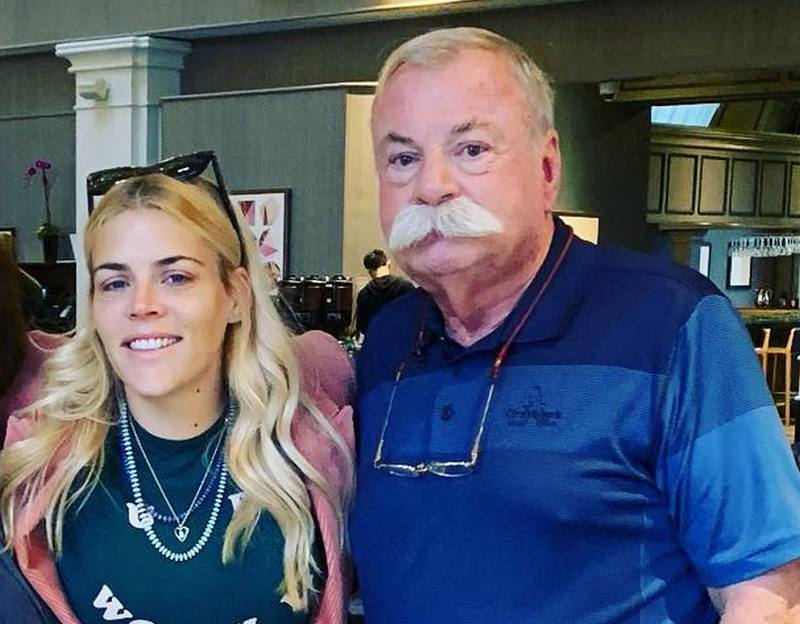 Busy Philipps' family - father Joseph Phillips