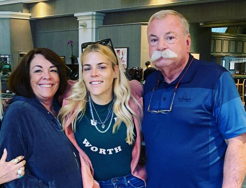 Busy Philipps' family - parents