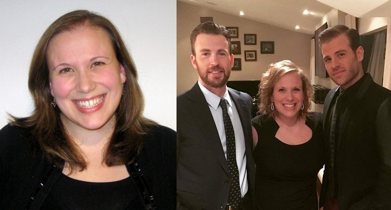 Chris Evans siblings - sister Carly Evans