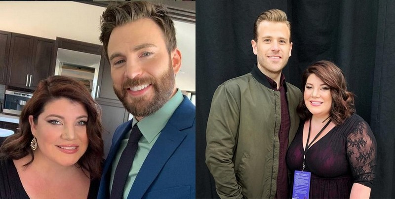 Chris Evans siblings - sister Shanna Evans