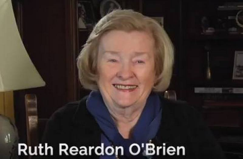 Conan O'Brien's family - mother Ruth O'Brien