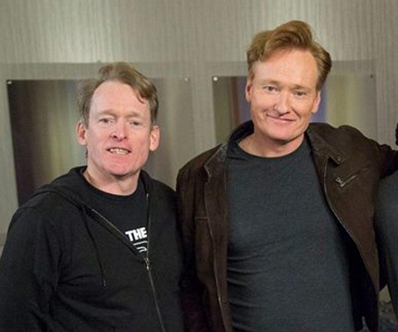 Conan O'Brien's siblings - brother Luke O'Brien