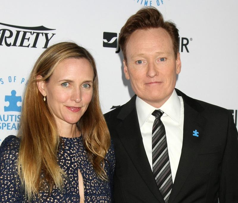 Conan O'Brien's family - wife Liza Powel O'Brien