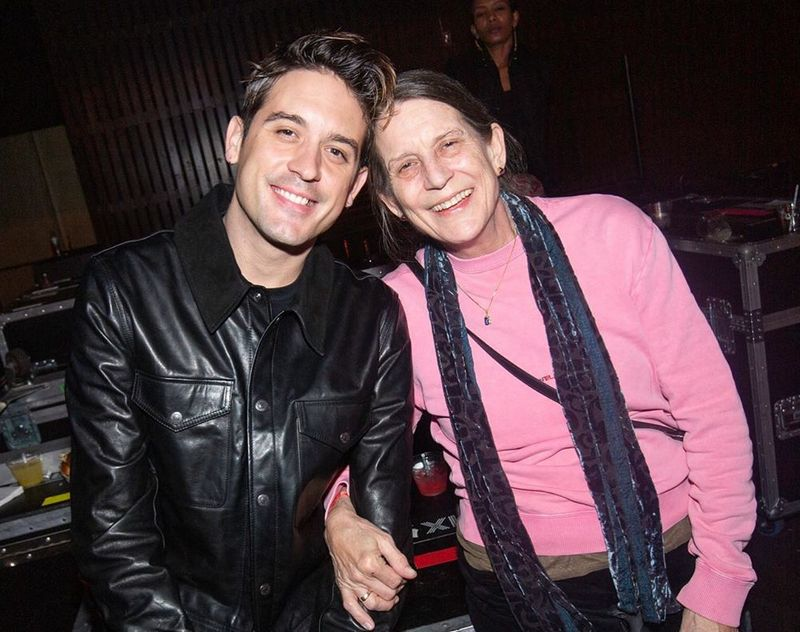 G-Eazy family - mother Suzanne Olmsted