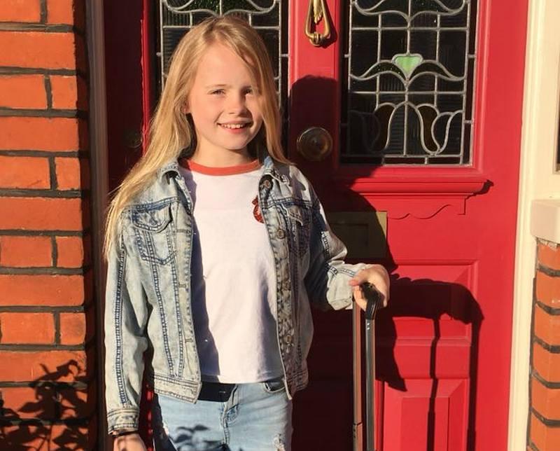 Iain Glen's children - daughter Mary Glen