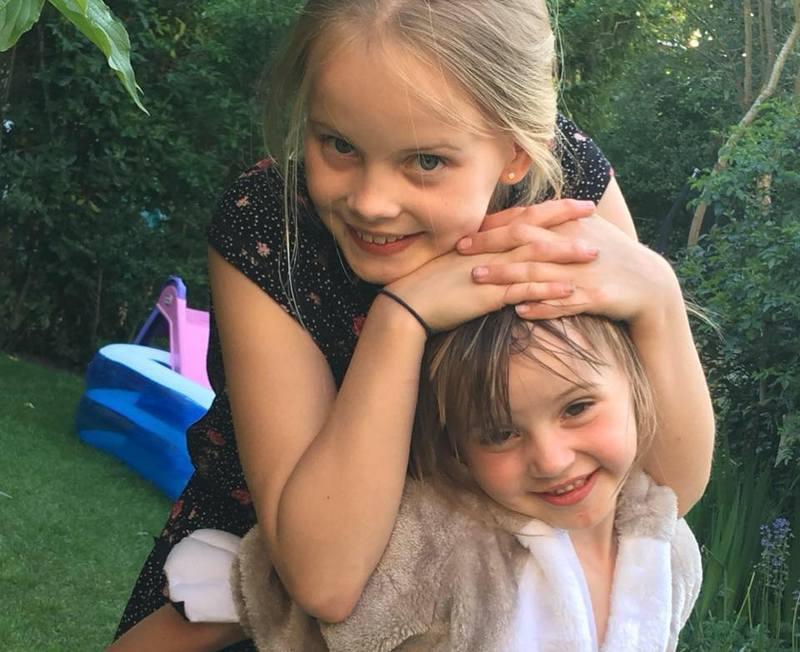 Iain Glen's children - daughters Mary and Juliet Glen