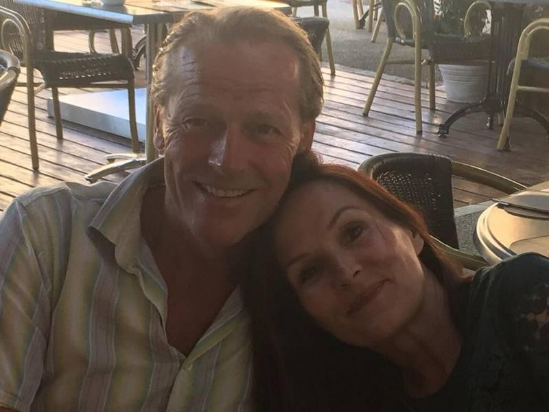 Iain Glen's family - wife Charlotte Emmerson