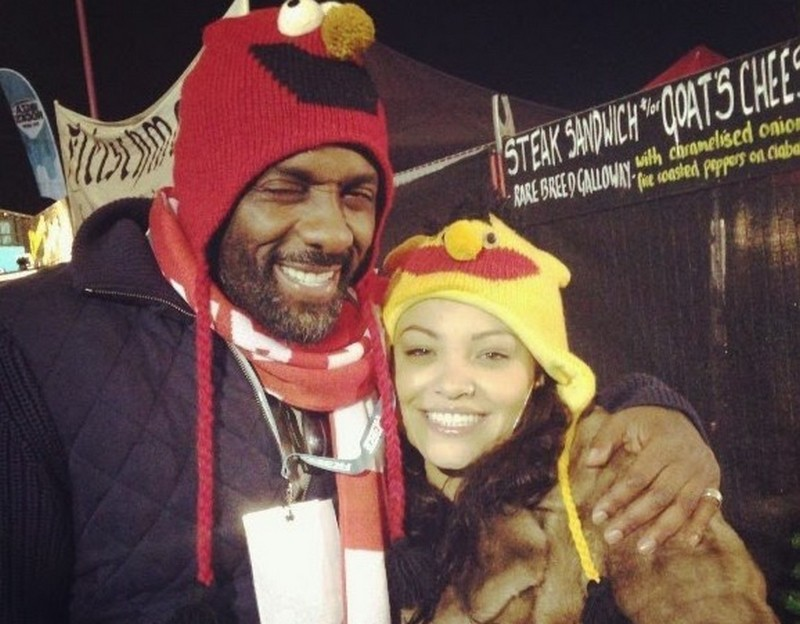 Idris Elba's family - ex-girlfriend Naiyana Garth