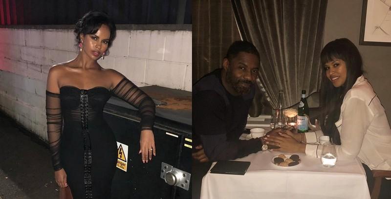 Idris Elba's family - wife Sabrina Dhowre