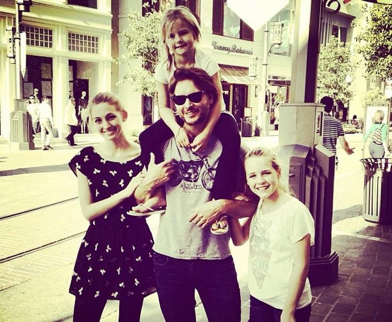 Jennie Garth's family - ex-husband Peter Facinelli