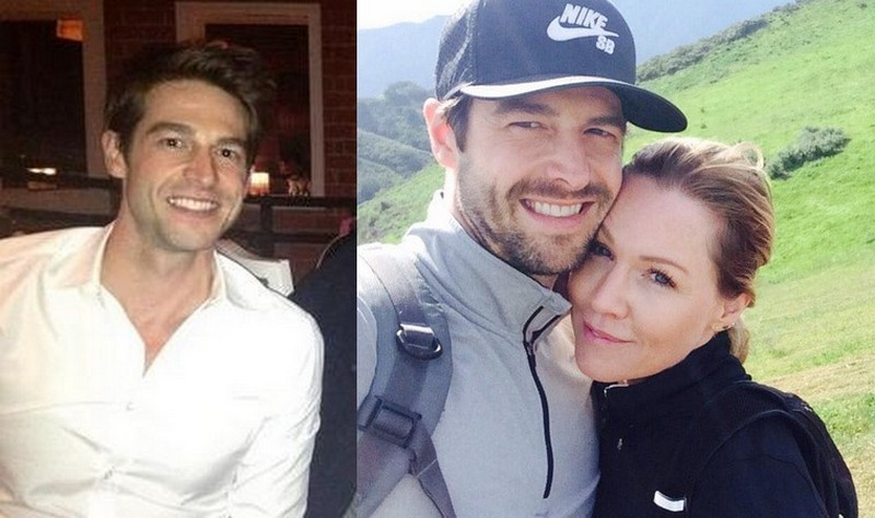 Jennie Garth's family - husband Dave Abrams