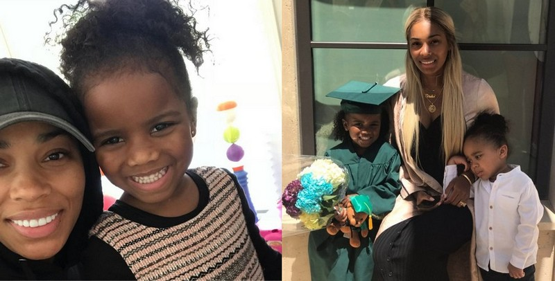 Kevin Gates' children - daughter Islah Koren Gates