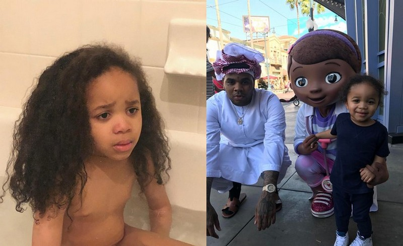 Kevin Gates' children - son Khaza Kamil Gates