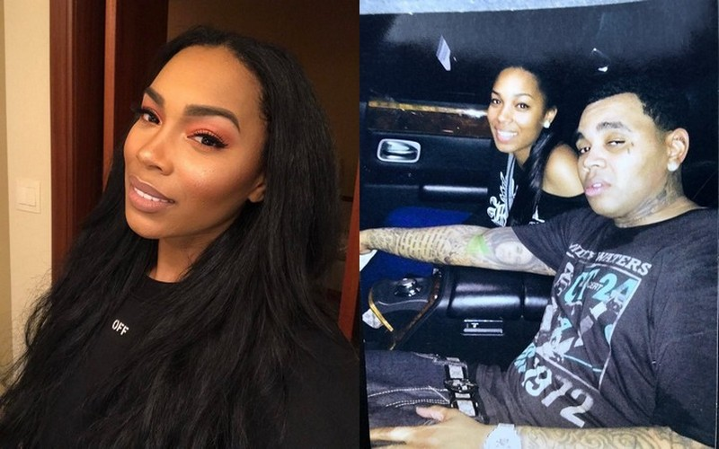 Kevin Gates' family - wife Dreka Gates