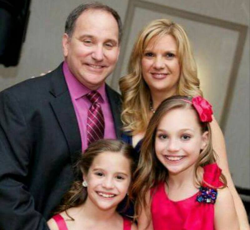Maddie Ziegler's family - step-father Greg Gisoni