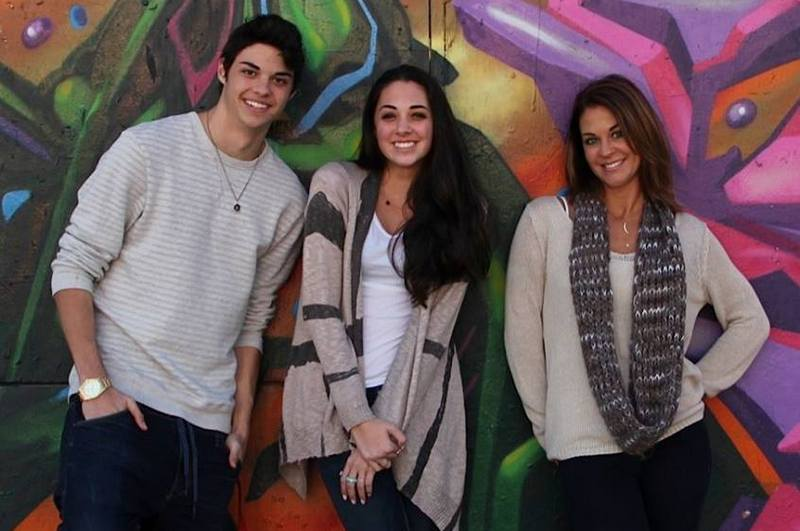 Noah Centineo's family - mother Kellee Janel Centineo