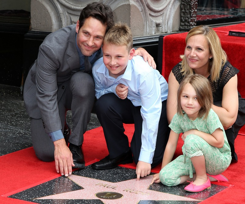 Paul Rudd's children - son Jack and daughter Darby Rudd